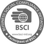 Bsci logo member of BSCI avec site internet-fonce